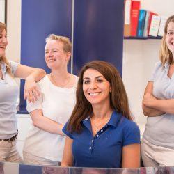 Ihr Team in der Dentalpraxis Unterlindau